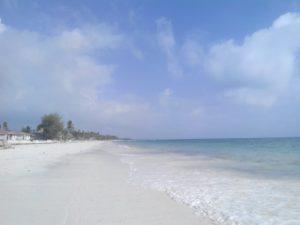 Джамбиани пляж на Занзибаре