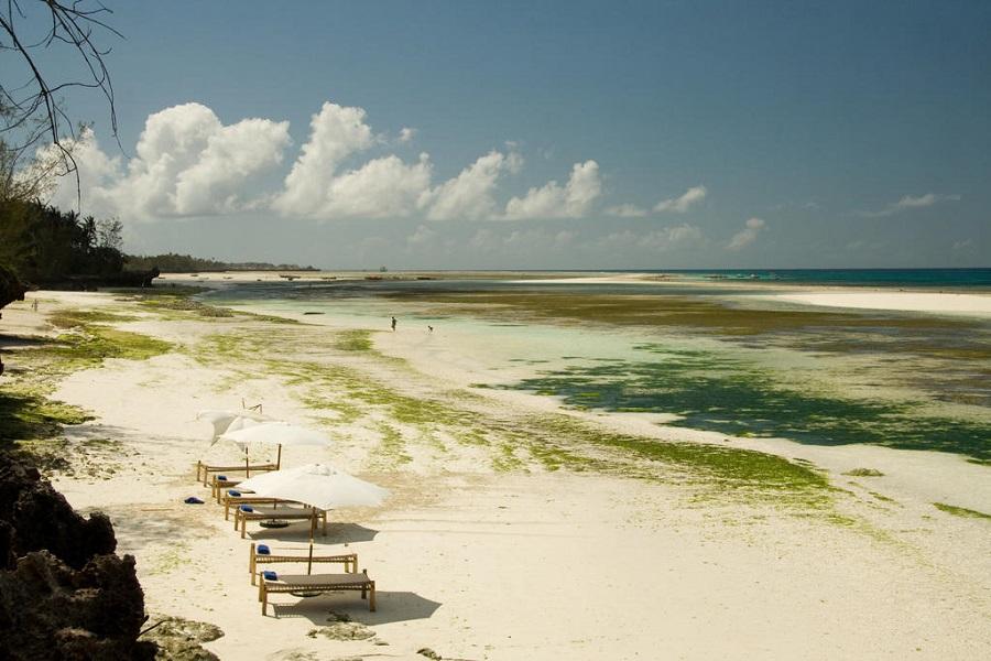 пляж кизимкази занзибар