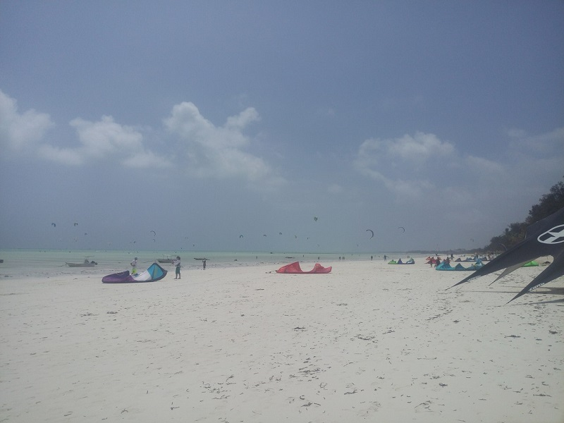 Занзибар фото пляжа Паже