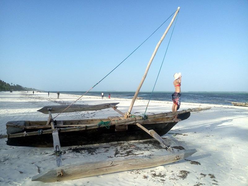 Пляж на Занзибаре фото