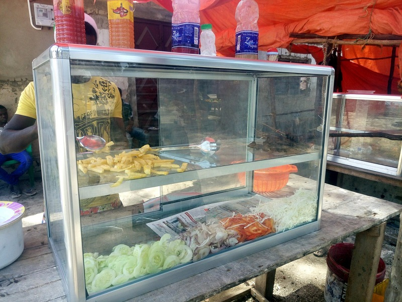 Цена на Занзибае на еду