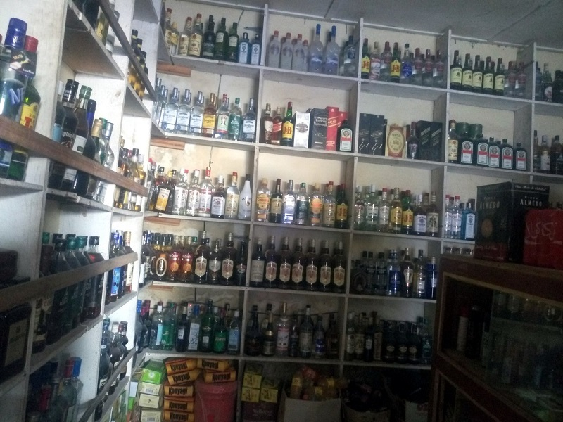 магазин алкоголя на Занзибаре