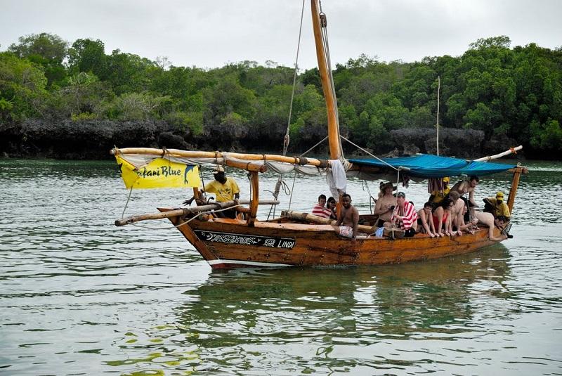 лодка для blue safari