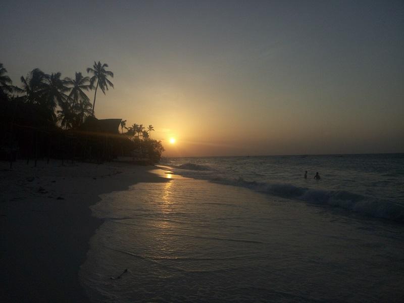 пляж нунгви занзибар