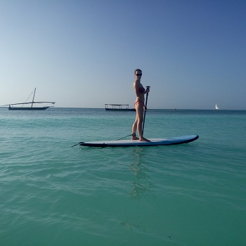 Сап серфинг на Занзибаре