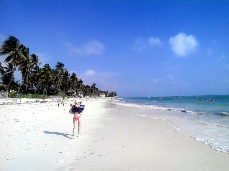 пляж Джамбиани на Занзибаре