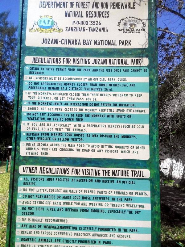 Жозани форест парк обезьян