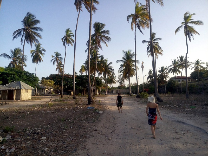 деревня Пвани Мчангани