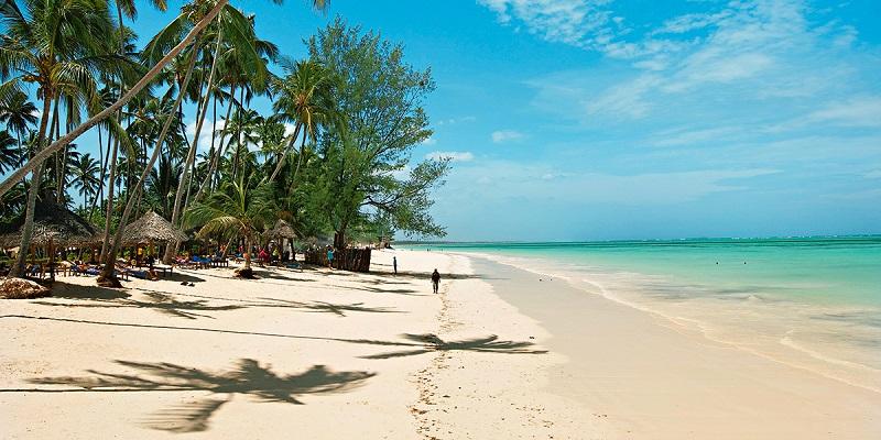 один из пляжей занзибара