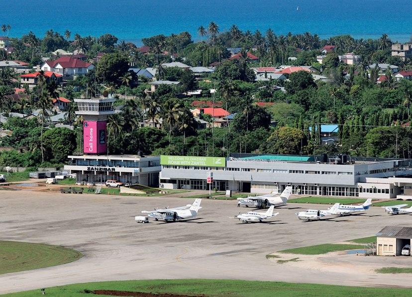 Занзибар аэропорт кисауни