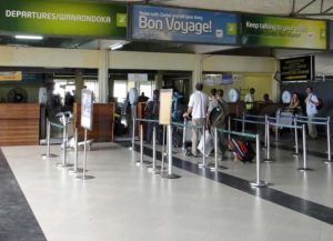 Занзибар аэропорт зал ожидания