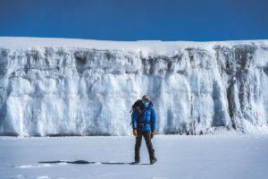 Ледник в кратере Килиманджаро