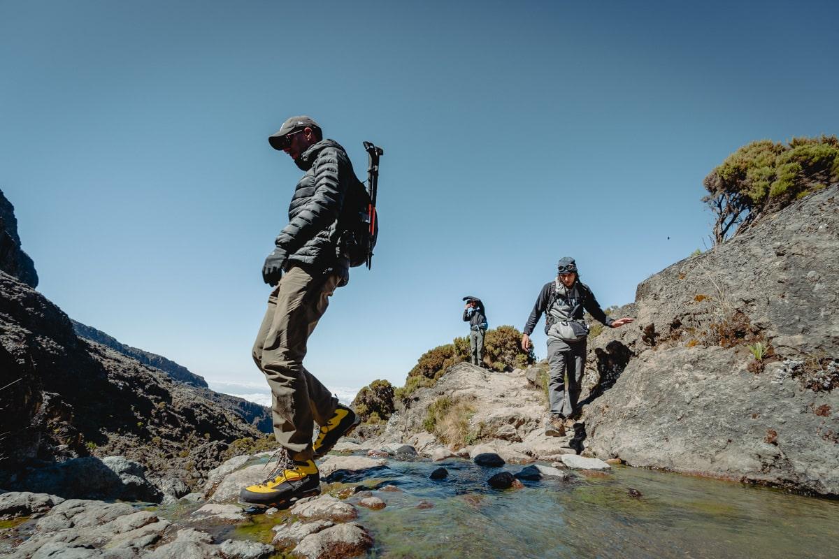 Маршрут на Килиманджаро